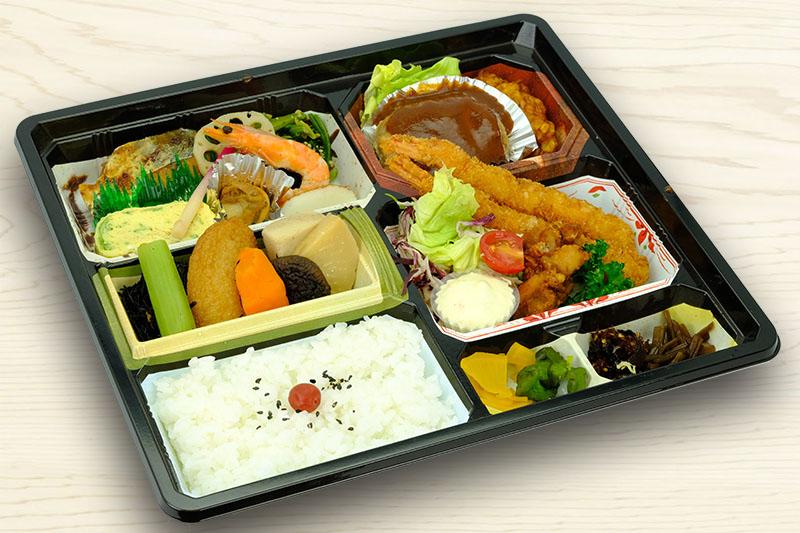 彩り弁当(好日) 1,500円(税別)
